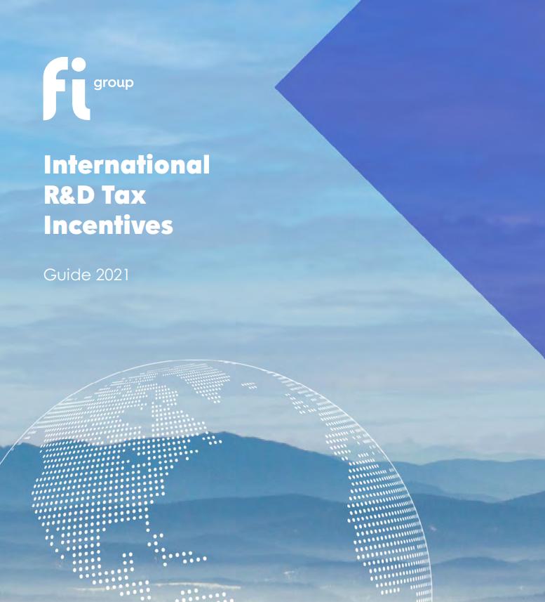 Guida agli Incentivi Fiscali Internazionali di Ricerca & Sviluppo